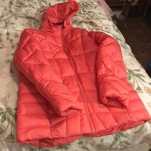 pink coat worn once